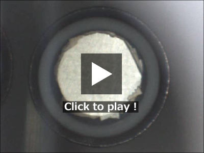 Gold-Tin alloy plating movie